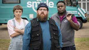 SDCC: Simon Pegg & Nick Frost Balance Comedy and Horror in Truth Seekers